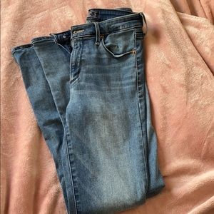 Abercrombie and Fitch High Rise Skinny Jeans